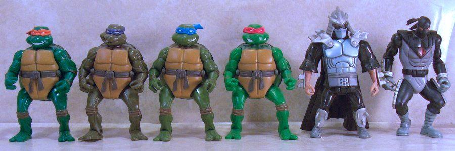 Teenage Mutant Ninja Turtles 2003 Toys : Tmnt mutations figures