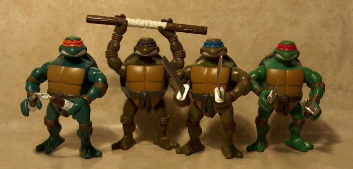 Mini Ninja Toys : Tmnt mini ripped up figures