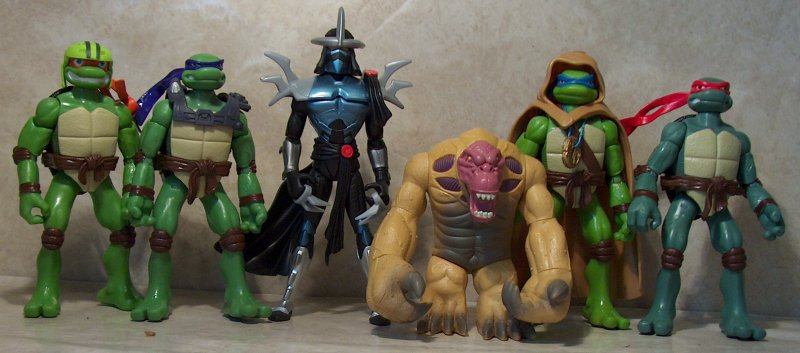 Tmnt Movie Toys : Tmnt movie series two figures review