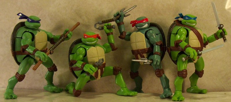 Tmnt Movie Toys : Tmnt movie mutations action figures