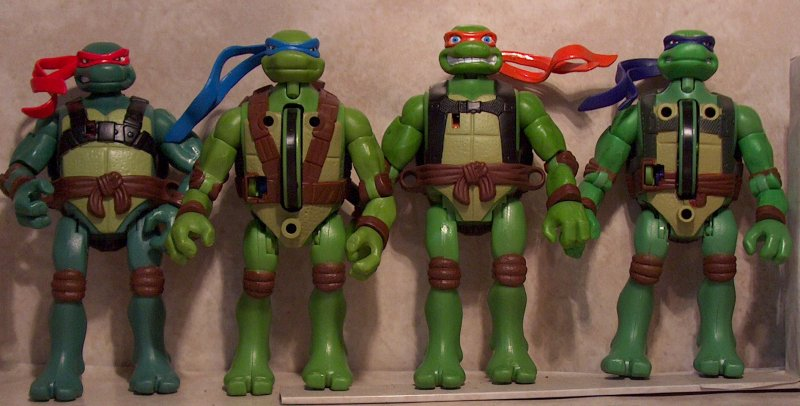 Tmnt Movie Toys : Tmnt movie street grindin figures review
