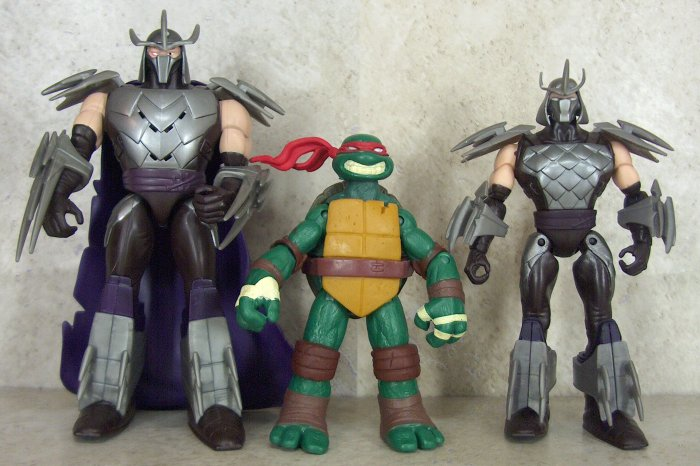 Pics For > Tmnt 2012 Shredder Toy