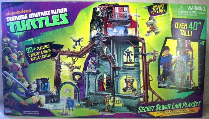 Teenage Mutant Ninja Turtles Secret Sewer Lair Play Set