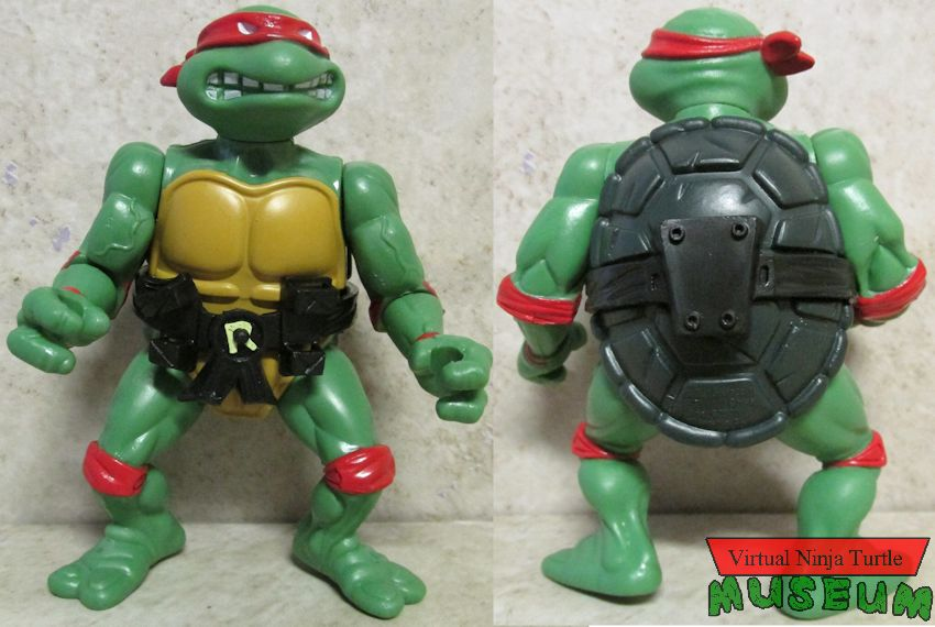 Raphael front and back