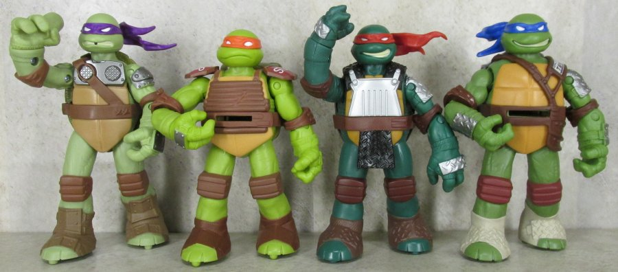 Teenage Mutant Ninja Turtles 2003 Toys : Teenage mutant ninja turtles flingers