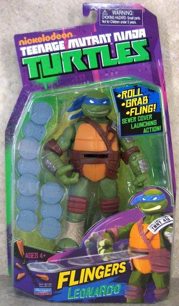 Pizza Tossing Leonardo Vintage Ninja Turtles