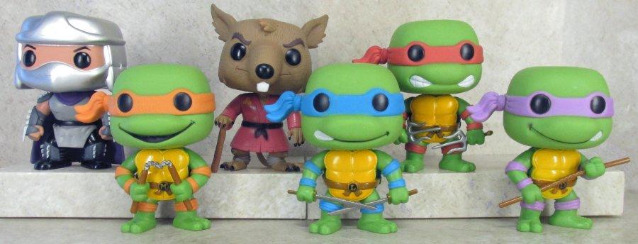 014fc1a3903 Funko Pop Television Teenage Mutant Ninja Turtle Figures
