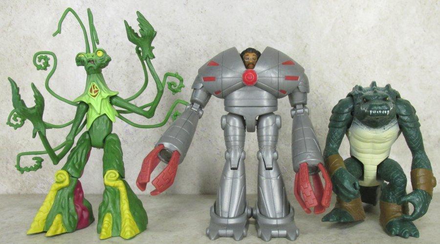 Teenage Mutant Ninja Turtles Series 4: Leatherhead, Snakeweed ...