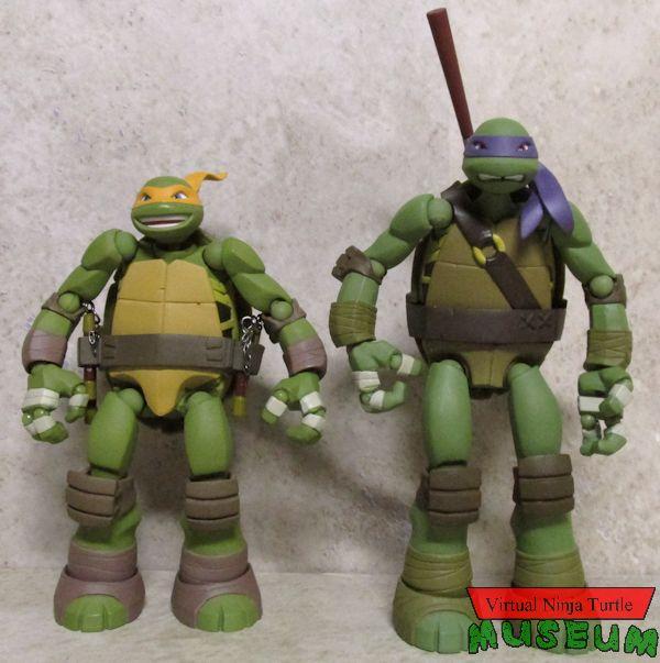 Mutant Ninja Turtles Zabawki Revoltech Leonardo