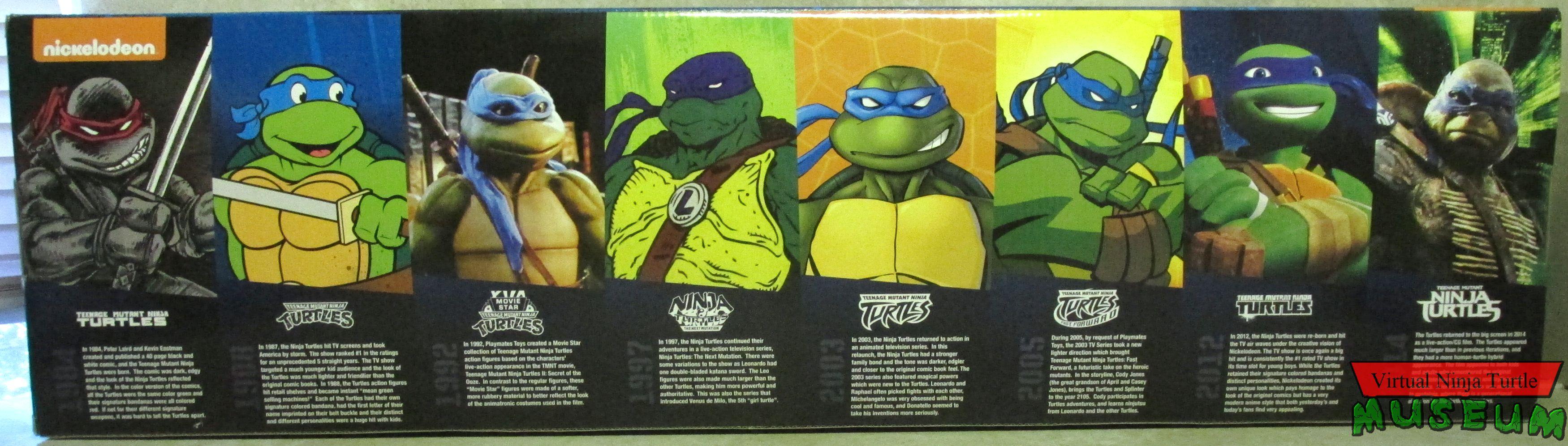 History Of Teenage Mutant Ninja Turtles Featuring Leonardo Box Set