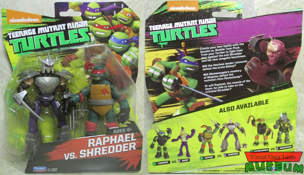 Teenage Mutant Ninja Turtles Goodie Vs Baddie Twin Packs