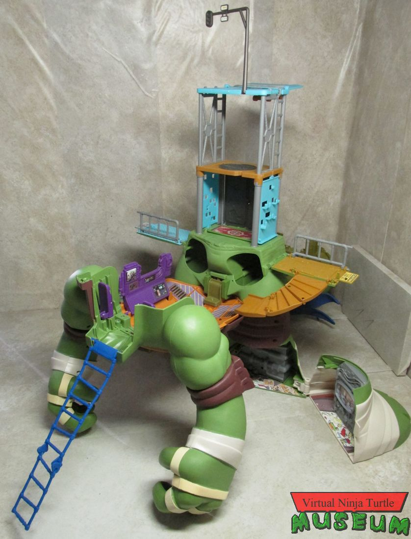 ninja turtles secret sewer lair playset instructions
