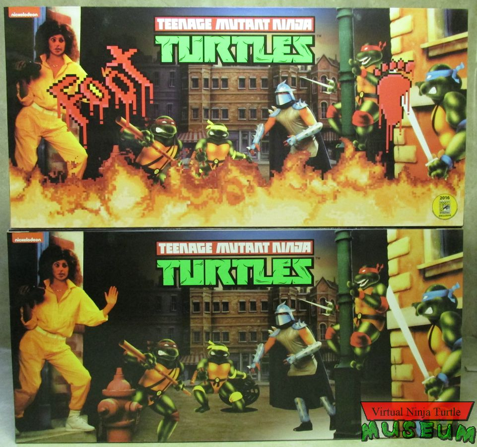 NECA TMNT Arcade Game Four Packs