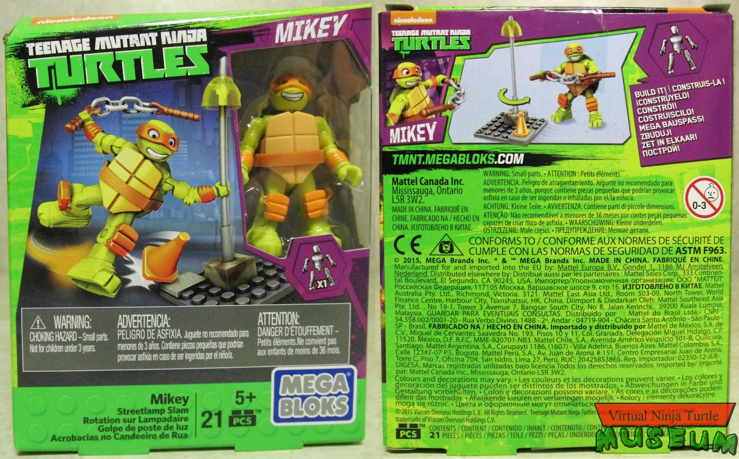 Mega Bloks Modern TMNT Training Sets Series Two Review
