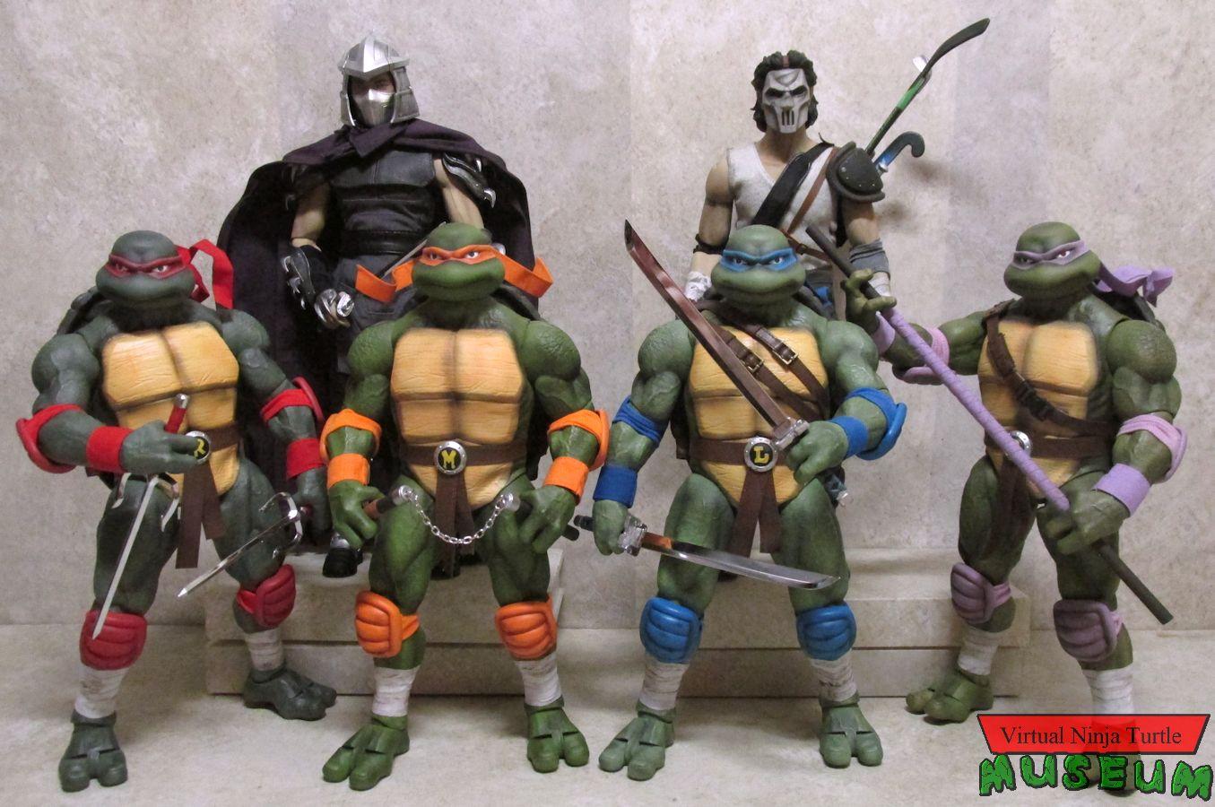 Dreamex 1 6 Scale Ninja Turtles Casey Jones And Shredder Review