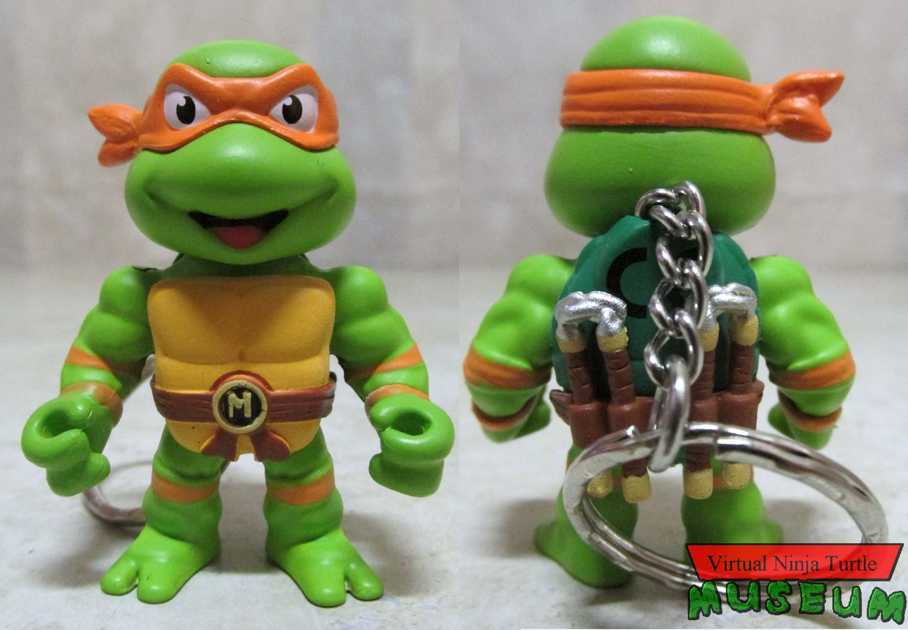 two inch Michelangelo front and back
