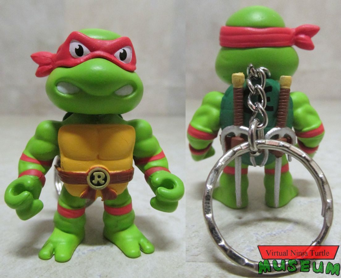 two inch Raphael front and back