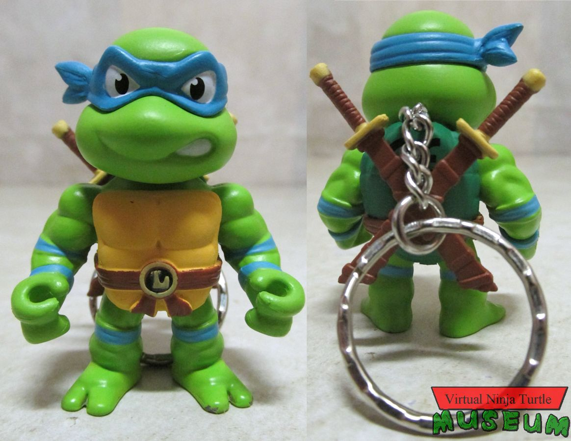 two inch Leonardo front and back