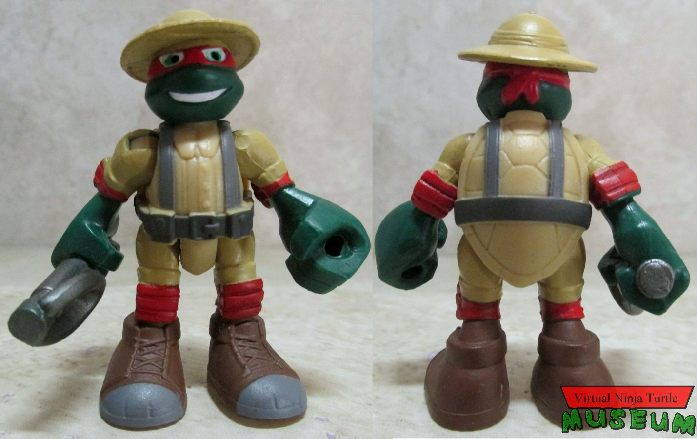 Safari Raph front and back