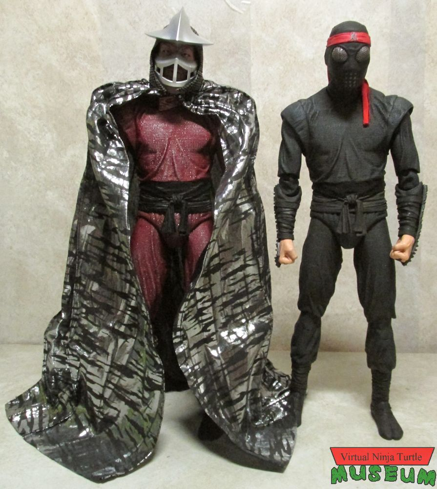 Neca 1 4 Scale Movie Foot Soldier And Shredder Review