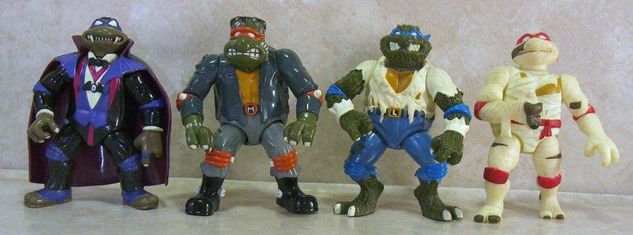 Teenage Mutant Ninja Turtles Mutant Monster Toys : Universal studios monsters