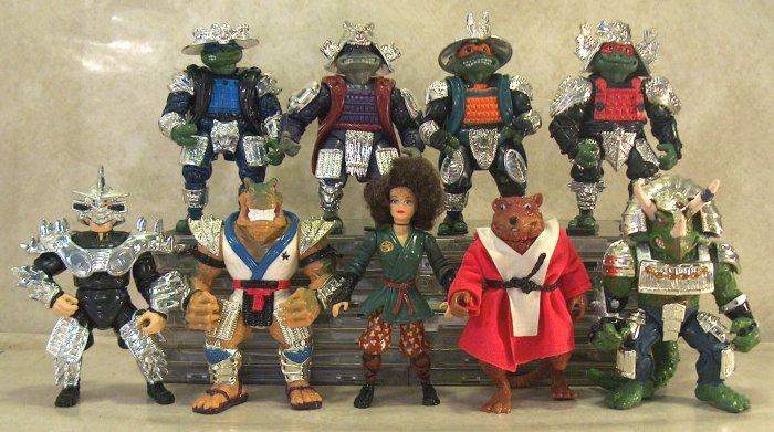 [Figurines] TMNT: Movie Star - Playmates (1990-1993)  Shoguns