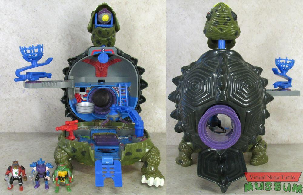 Playmates 2007 - TMNT Mini-Mutants Battle Shell - Teenage Mutant ...