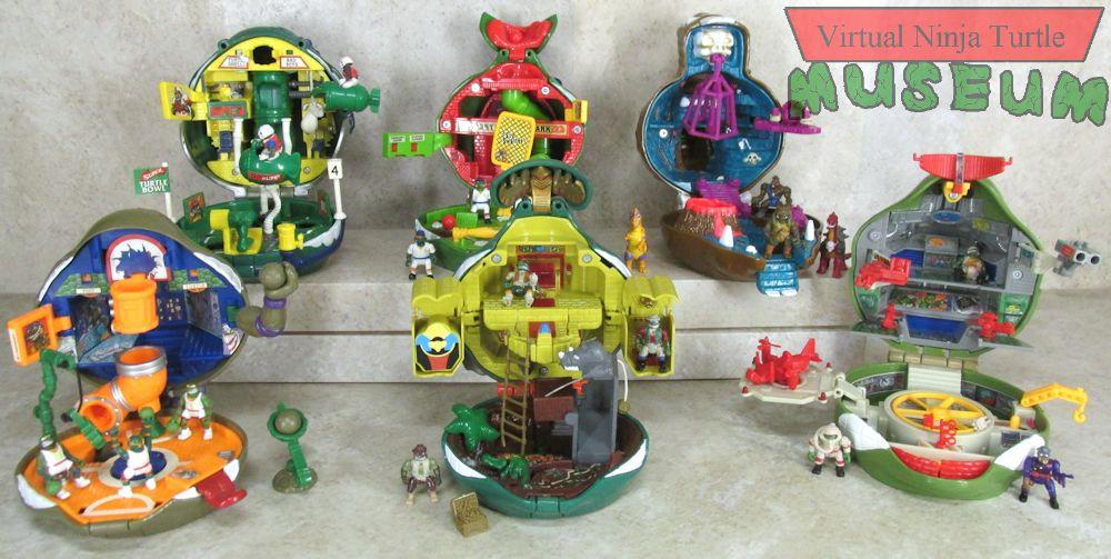 Playmates 1995 - Mini-Mutants The Mighty Muscle Combo - Teenage ...