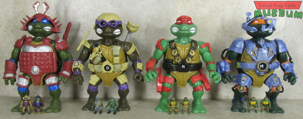 Playmates 1995 - Mini-Mutants Leonardo's Battle Castle Playset ...