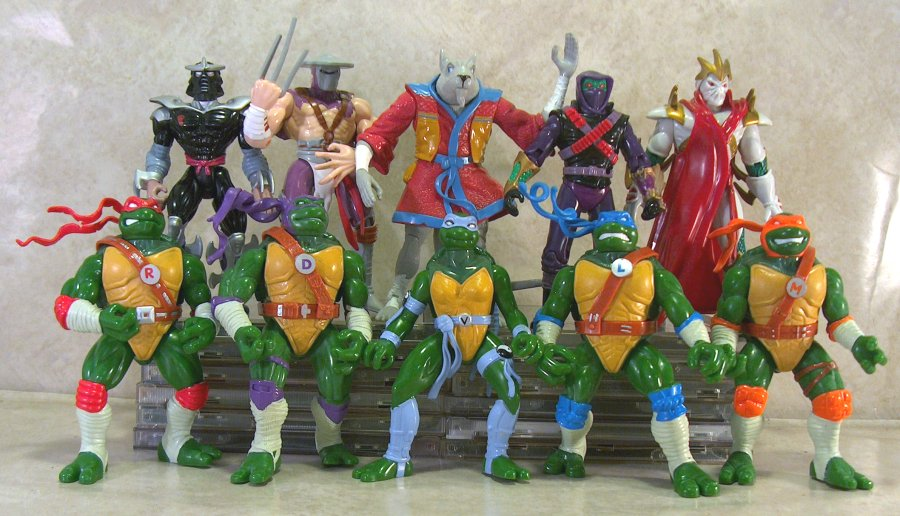 The Ninja Turtles Next Mutation Toys : Figurines tmnt next mutation playmates