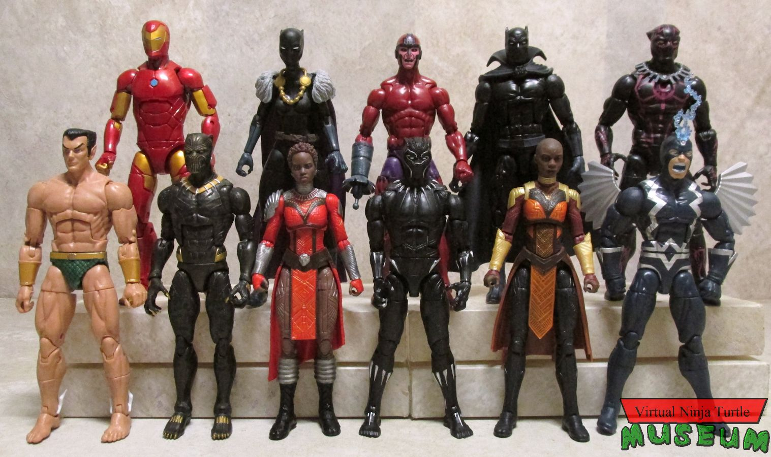 Hasbro Marvel Legends Infinite Black Panther Okoye Series And Exclusive Figures Review