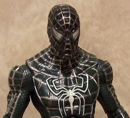 Black Man Paintings Black Suit Spider Man