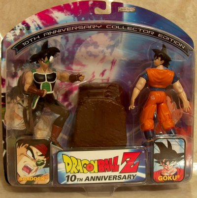 dragon ball z 10th anniversary figures