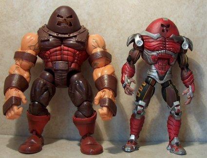 X Men Series 2 Angel Juggernaut And Air Strike Wolverine