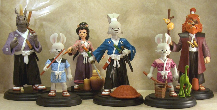 Usagi Yojimbo Series One Statues