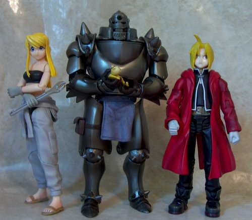 fullmetal alchemist figures. Black Bedroom Furniture Sets. Home Design Ideas