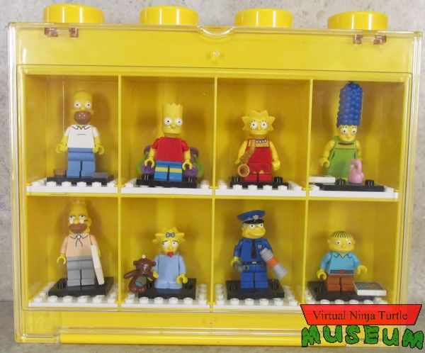 Hardest Lego Set >> Lego Simpsons Minifigures and Minifigure Display Case review