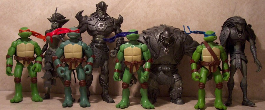 Tmnt Movie Turtle General Two Packs Review