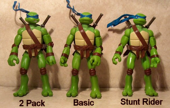 Tmnt Movie Stunt Rider Figures And Cycles Review