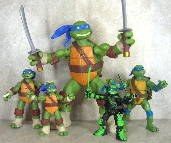 Teenage Mutant Ninja Turtles Battle Shell Figures
