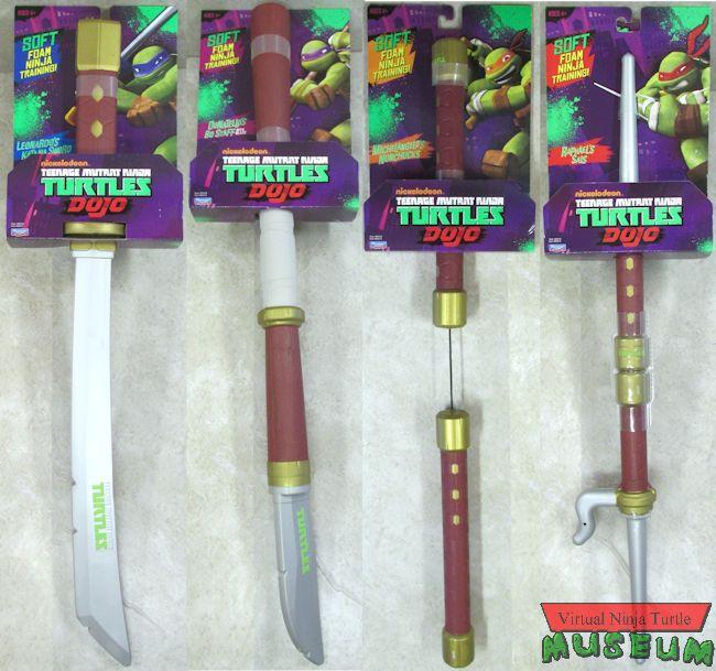 TMNT Dojo Foam Weapons