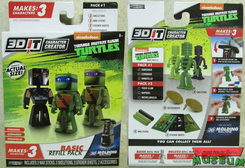 Jakk's Pacific 3DIT Teenage Mutant Ninja Turtles Sets Review