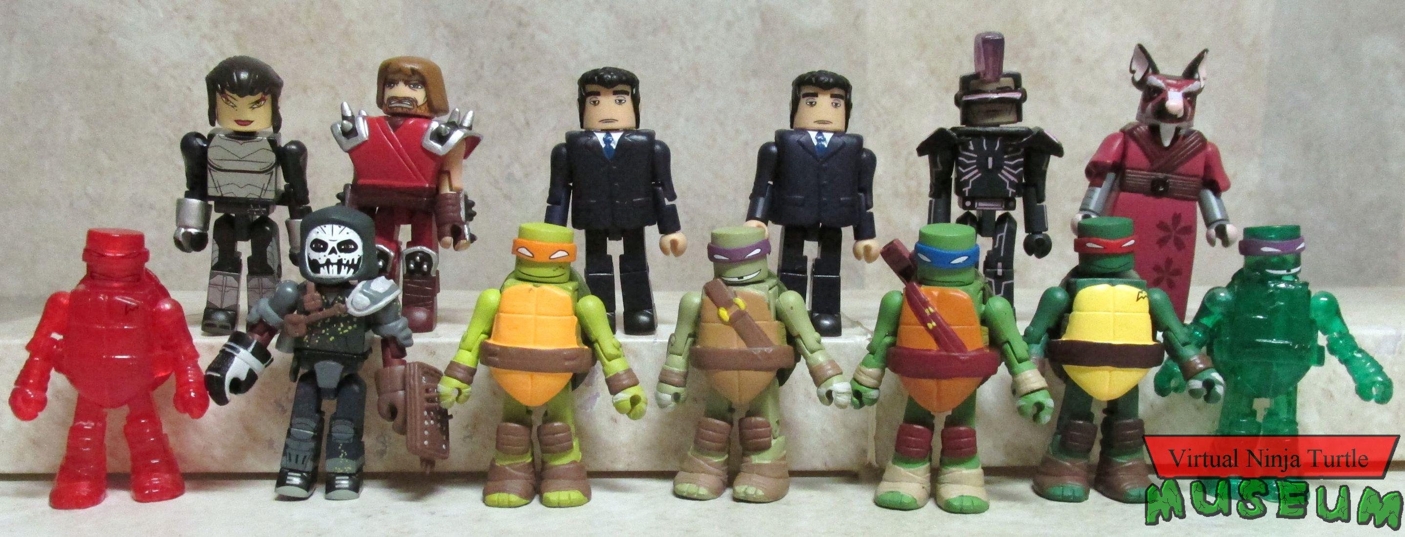 TMNT Teenage Mutant Ninja Turtles Minimates Series 1 Leonardo