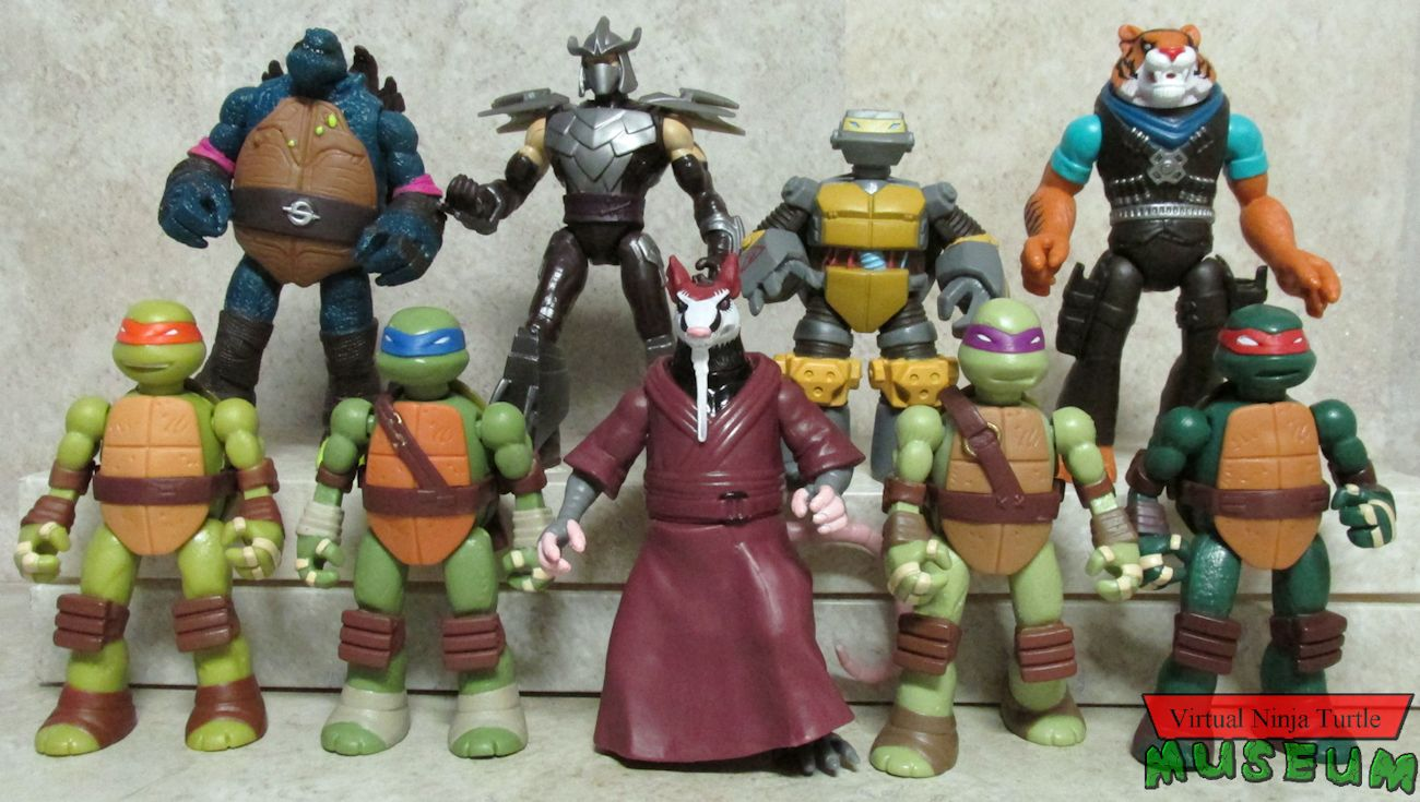 Teenage Mutant Ninja Turtles Toys 1 : Teenage mutant ninja turtles mix match mutations series