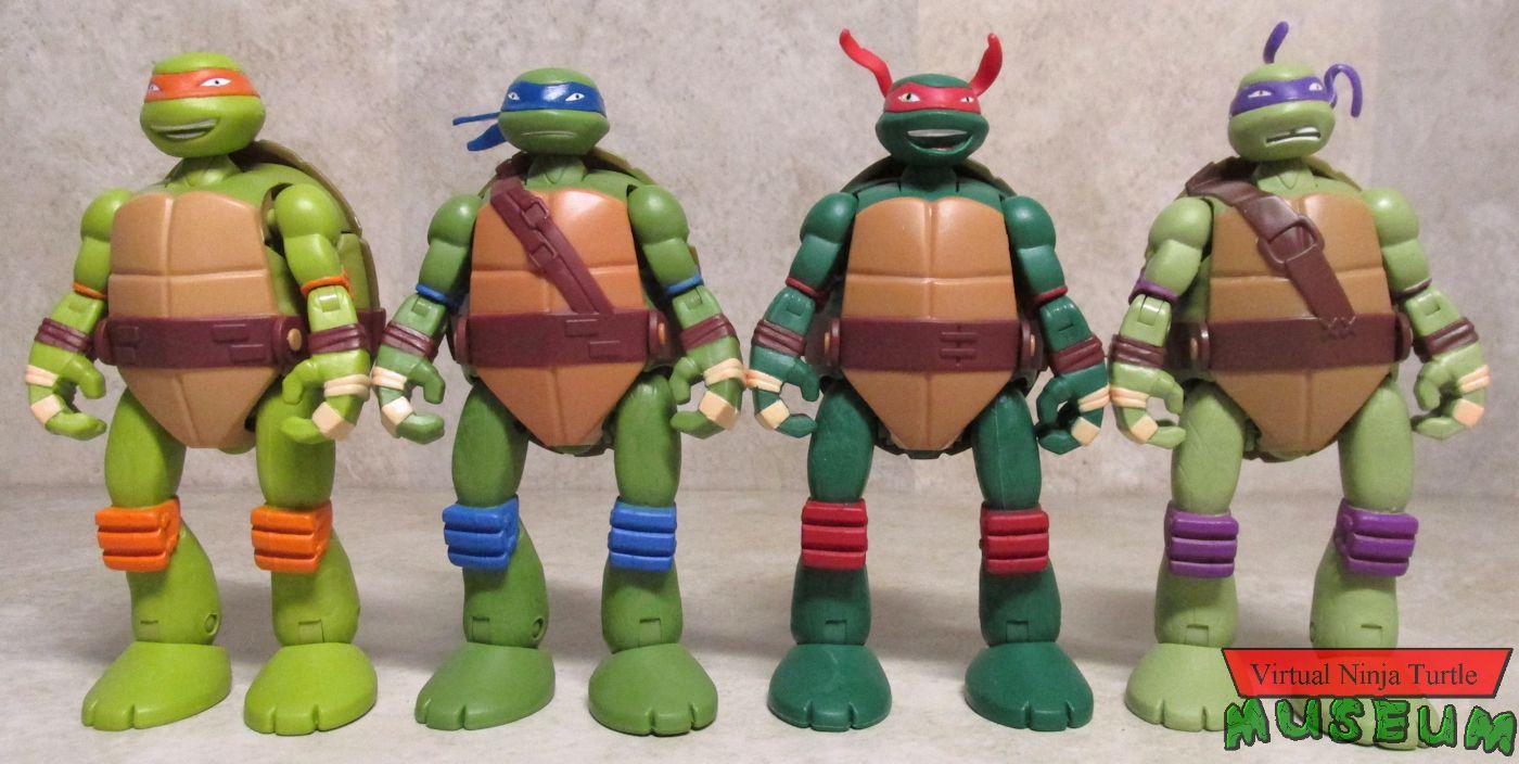 Teenage Mutant Ninja Turtles Mutations Pet Turtle To Ninja Turtle Figures