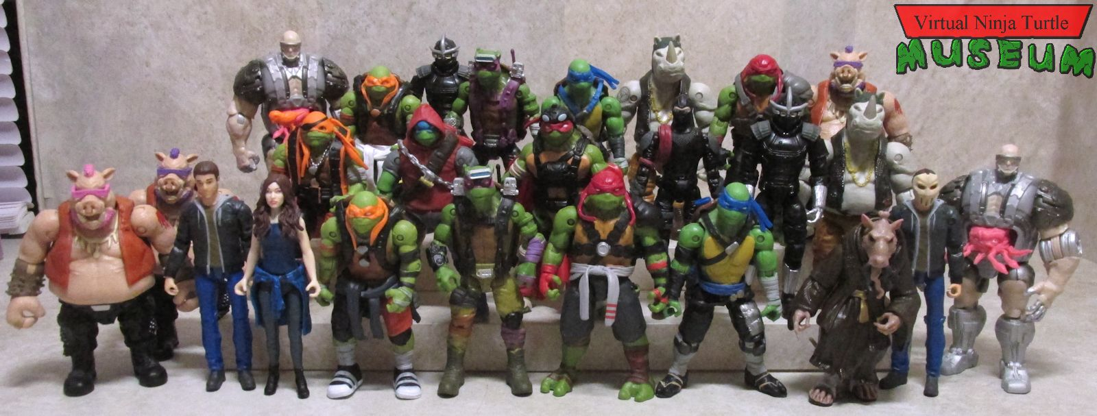 Teenage Mutant Ninja Turtles Out Of The Shadows Basic Figures Review
