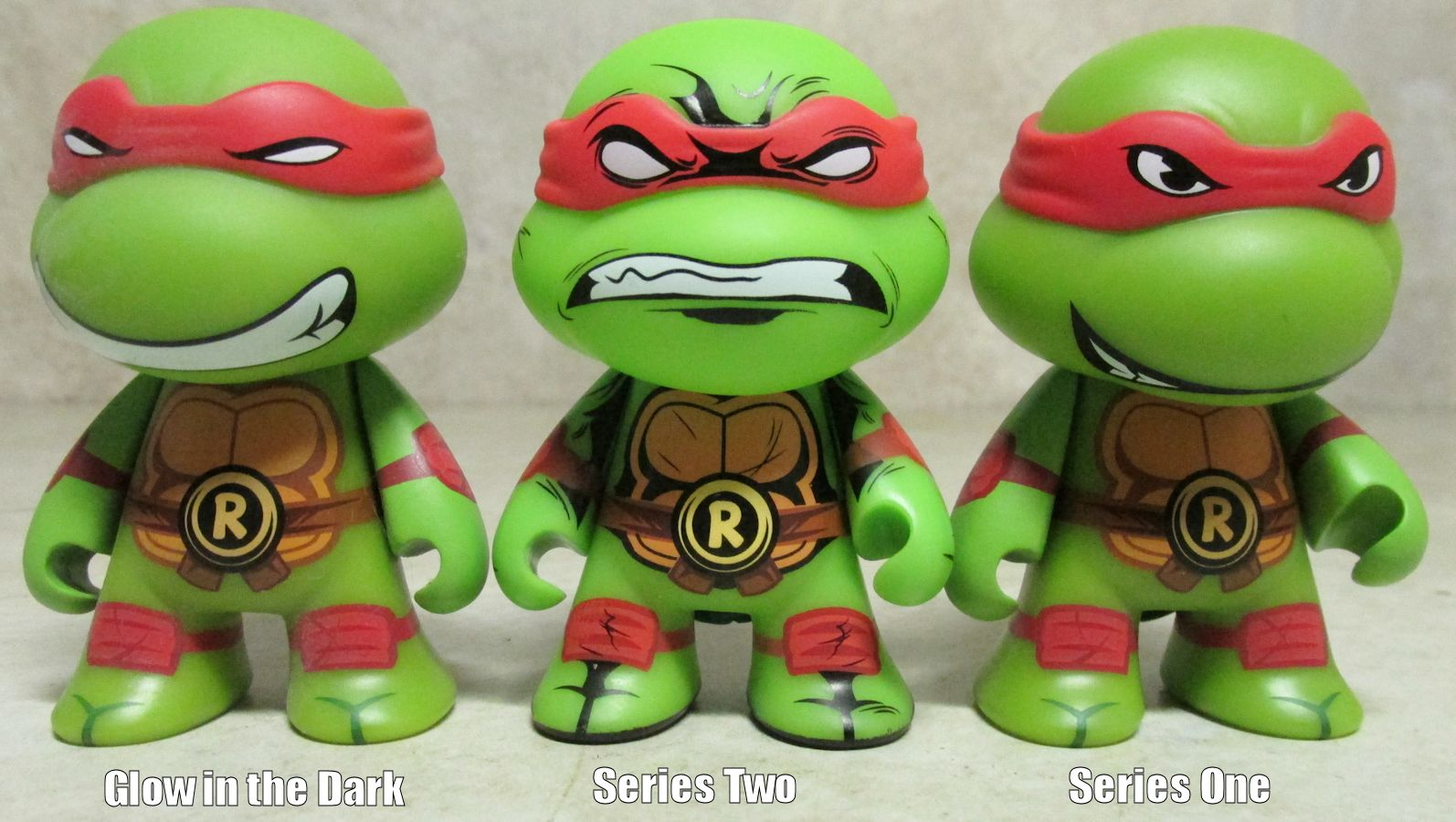 Teenage Mutant Ninja Turtles Shredder Vinyl Figure Kidrobot MUTAGEN GREEN
