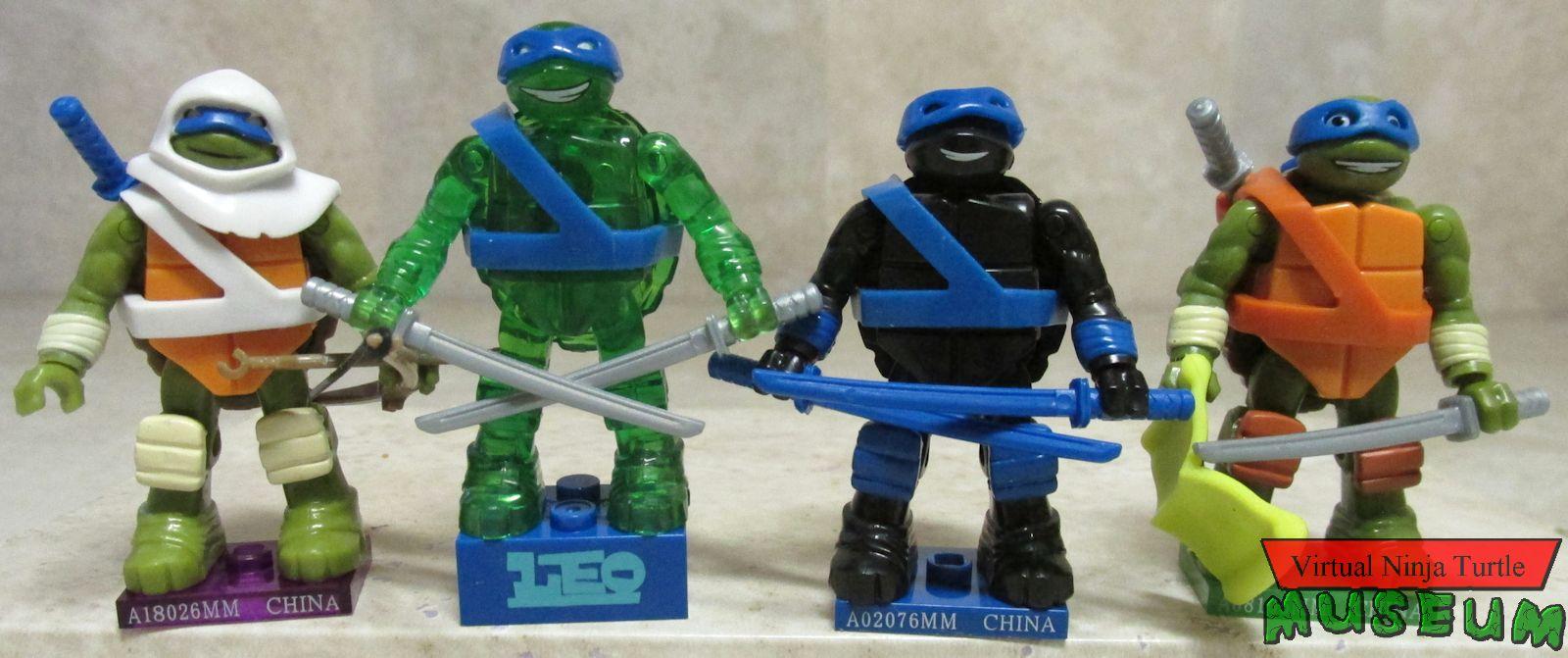 Teenage Mutant Ninja Turtles TMNT Mega Bloks Series 3 Dark Horizons Leonardo