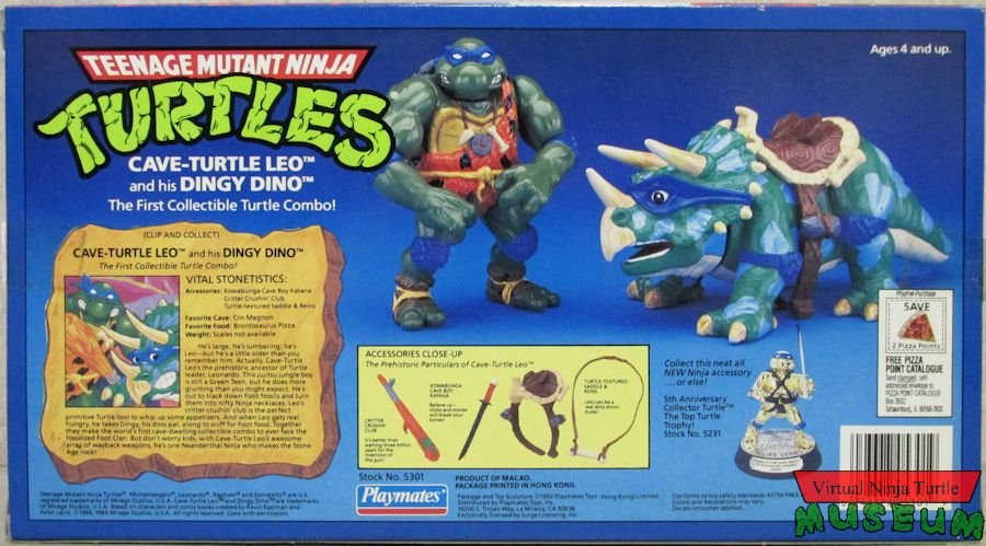Cave-Turtle Leo and his Dingy Dino