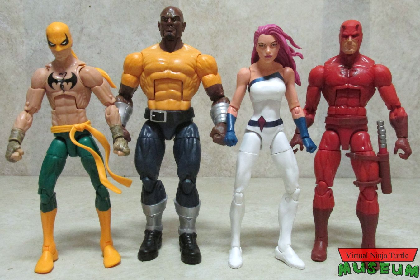 Marvel Legends Series The Defenders Iron Fist figure loose Pack Collection toys